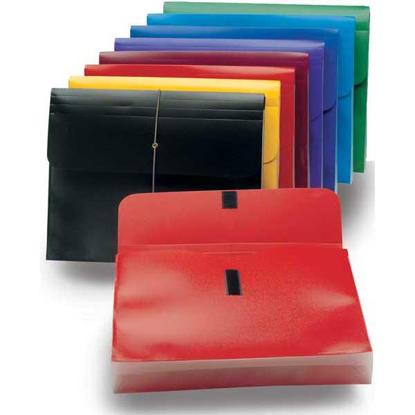 Plastic expanding file wallet 1 3 4 expansion letter size for Expanding wallet letter size