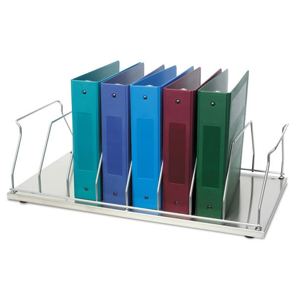 Table Top Chart Rack 8 Space Binder Storage Item