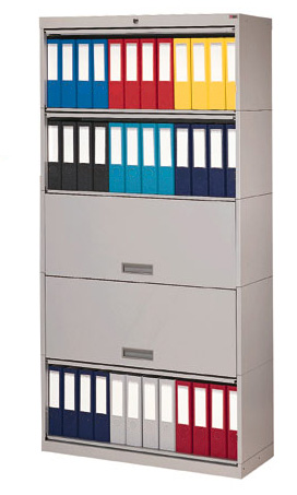 locking chart binder shelving storage cabinets hipaa - Locking Storage Cabinet