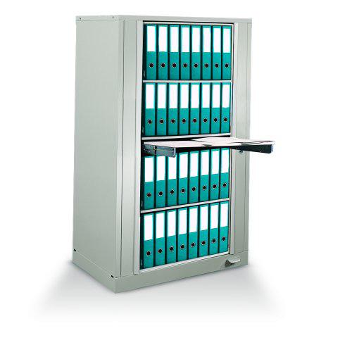 Rotary Chart Binder Storage Rack