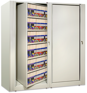 Awesome Rotary File Cabinet   Times 2, Times Two, X2 Rotating Shelving