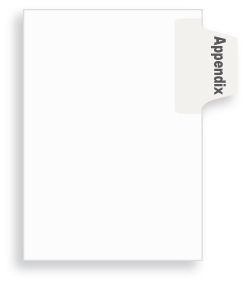 Appendix Side Tabs, Letter or Legal Size, 25/Pkg  - (Avery