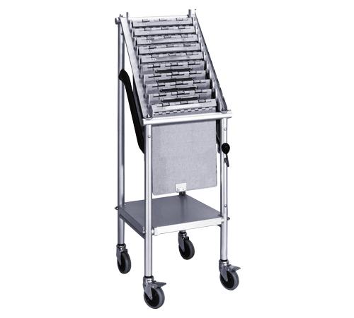 Wheeled Chart Holder Carrier 10 E Capacity