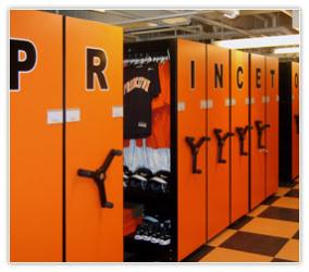 Athletic Equipment Storage And Shelving Systems