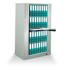 Rotary Chart Binder Storage Rack