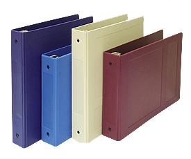 "1 1/2"" Chart Ring Binders - Molded Patient Ringbinder (Open Side)"