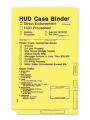 HUD Case Binder, Yellow Folder - Printed 50/Box (Matches 4212)