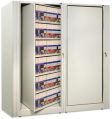 Rotary File Cabinet - Times 2, Times Two, X2 Rotating Shelving