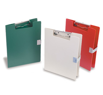 Covered Medical Chart Clipboards Poly Coated Hipaa Compliant Five Colors