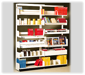 cantilever_shelving_library_spacesaver_montel_books_storage