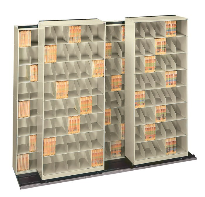 movable_lateral_bi_file_tri_file_ shelving_storage_system